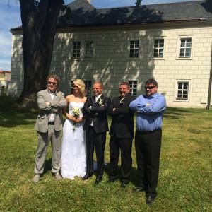 Svatba Ruda – červen 2014